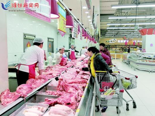 潍坊猪肉价格跌回八元时代 业内称今年整体走势趋弱