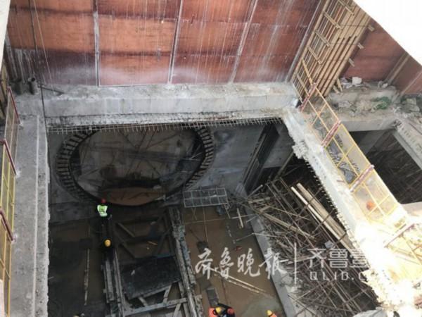 济南地铁R1线3月底即可全线洞通 7月将轨通