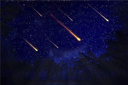 矩尺座伽马流星雨14日光临地球 属于快速流星