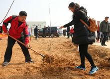 日照千余名市民参加大型公益植树活动
