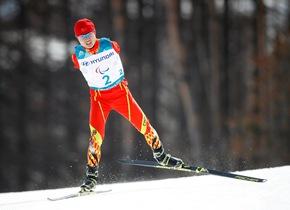 冬季残奥会越野滑雪男子20公里中国选手出战