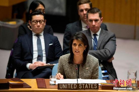 美常驻联合国代表:或就化武事件对叙采取新行动