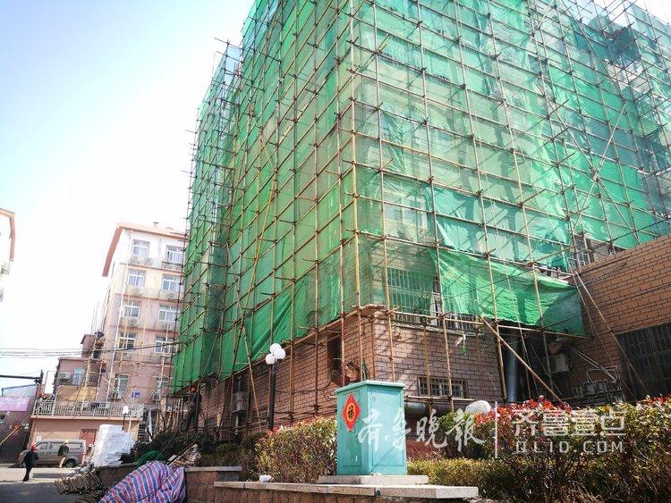 冬暖夏凉!青岛居民楼大面积节能改造