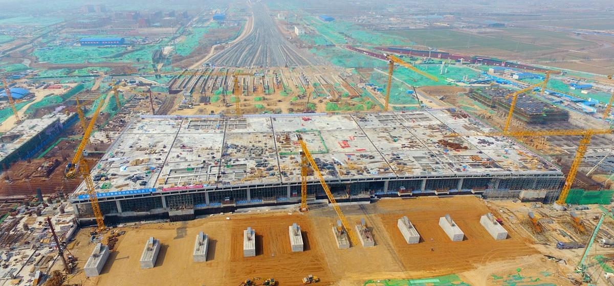 飞吧山东|计划今年年底通车的济南新东站现在啥样了?