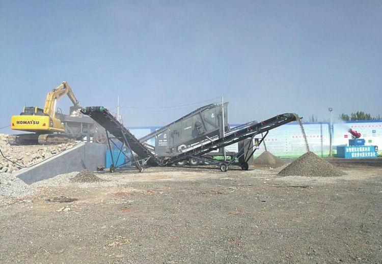 """济南拆违垃圾去哪了?40万余吨垃圾变身隔离墩成为""""有用之材"""""""