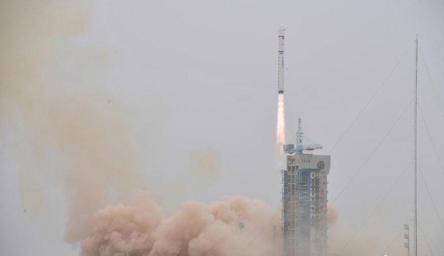 中国成功发射陆地勘查卫星四号