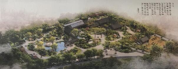 人民公园盆景园年底建成 填补聊城城市园林一项空白