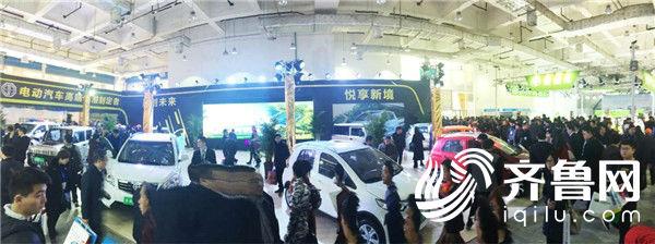 最美新能源汽车亮相—宾傲全系强势登场济南国际展会