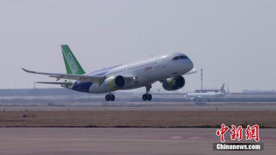 周新民:c919大飞机高标准高质量生产 大家可以放心去坐