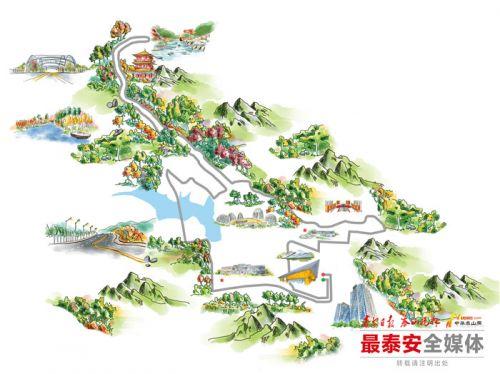 2018泰山国际马拉松赛路线公布
