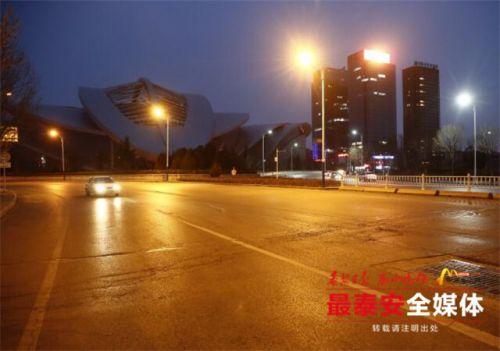 泰安望岳东、西路单行道延长 4条道路形成环形线路