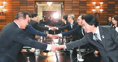 朝韩美互动频繁 对话,半岛问题再入正轨?