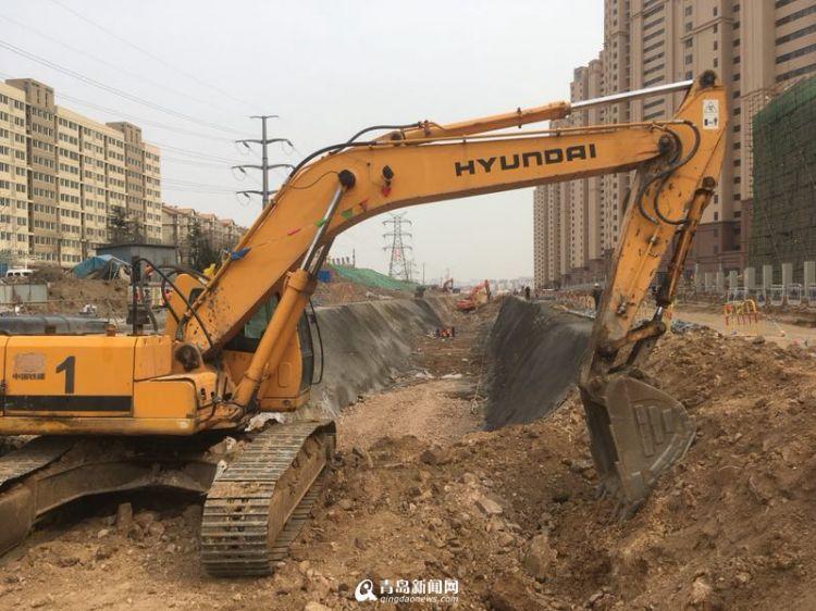 市北首条地下综合管廊开建 可容5种管线无需反复开挖