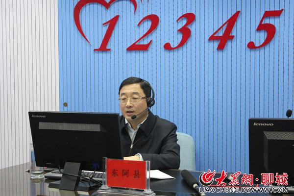 聊城东阿县去年共拆除违章建筑12万平方米
