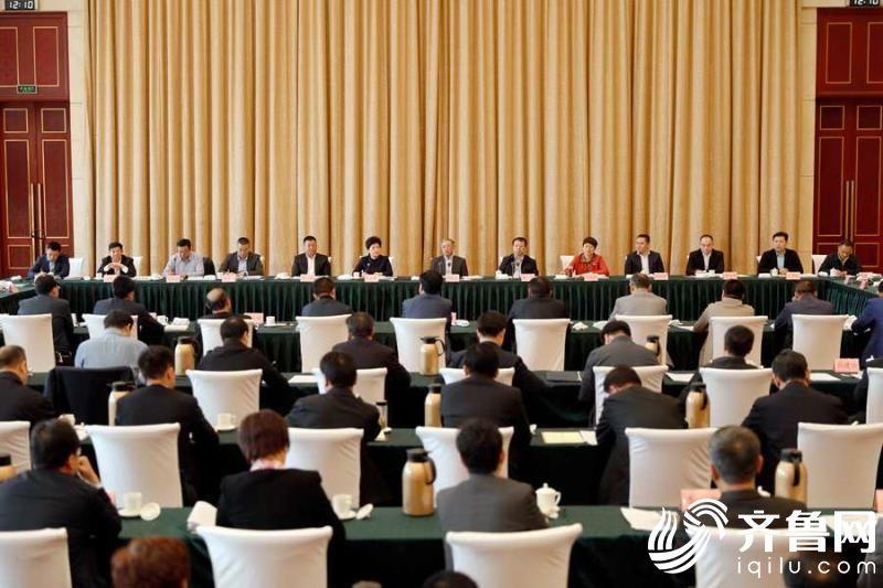 全国省级山东商会会长座谈会举行1