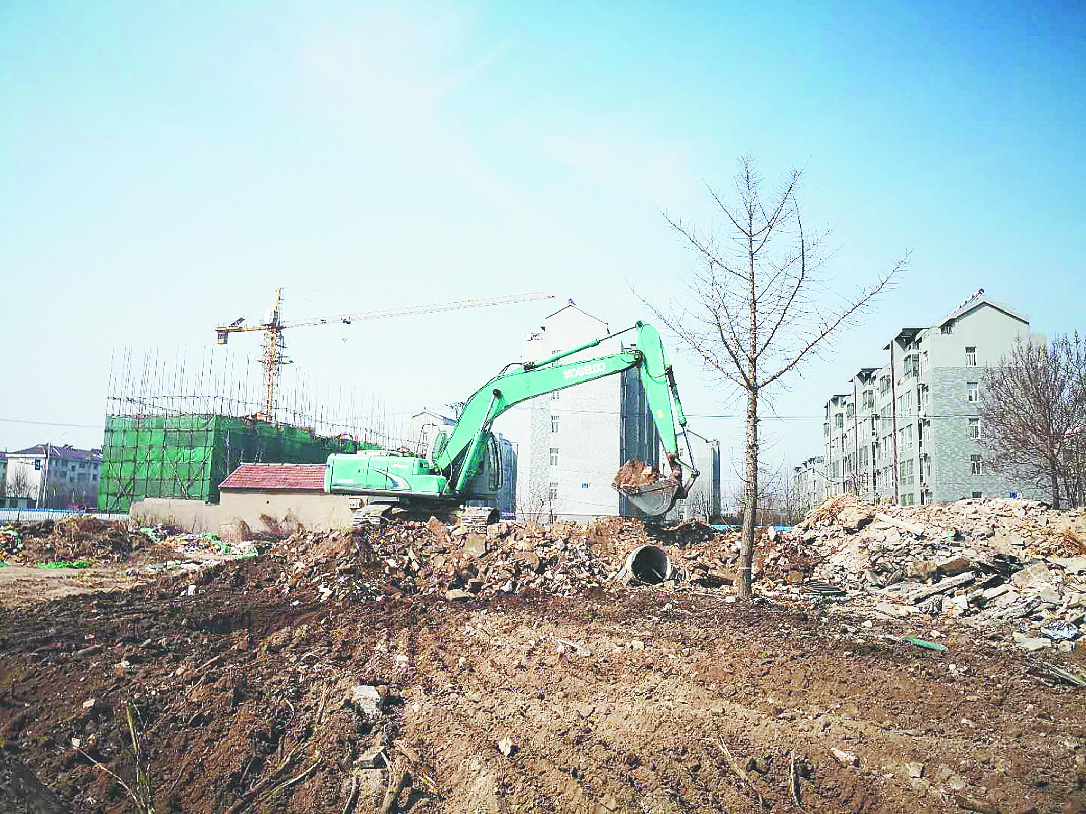 淄博马踏湖近自然人工湿地开建 计划年底前竣工验收