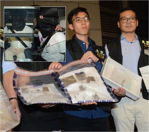 香港一珠宝店价值4000万港元钻饰遭劫 3名劫匪落网