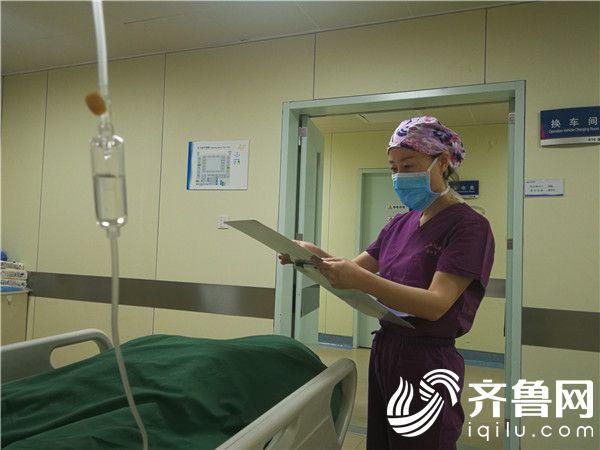 手术室里写芳华 烟台业达医院手术室护士长吴林媛