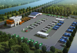 淄博:汇聚24条公交线 2.77亿打造新枢纽