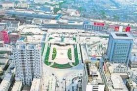 张店火车站南广场改造拆迁开启 良乡55间沿街房预计3月底拆完