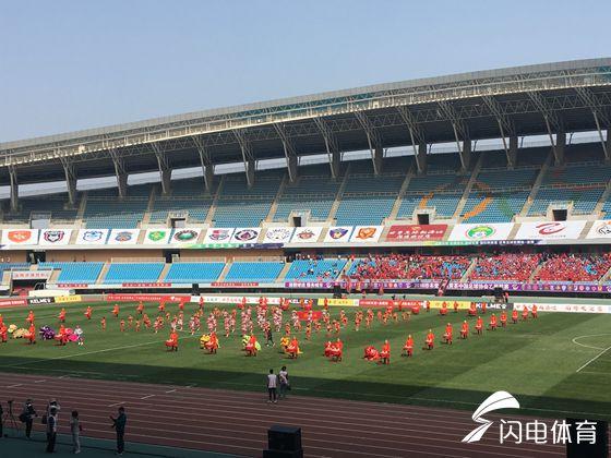 中乙联赛在淄博开幕! 淄博星期天拼下职业联赛第一分