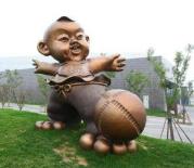 """足球成为临淄中小学生的""""必修课"""""""