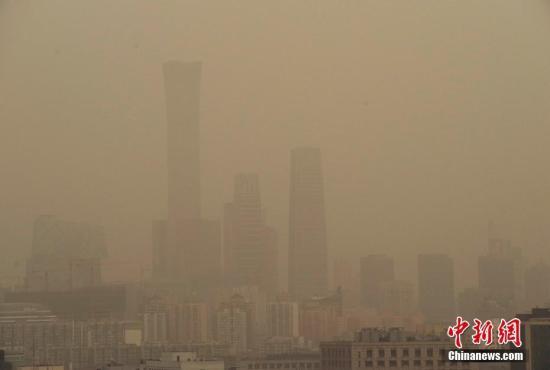雾霾又来!北京启动空气重污染蓝色预警