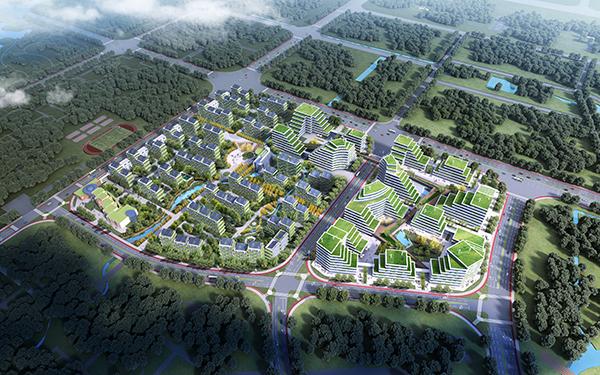 中法生态示范城市 效果图