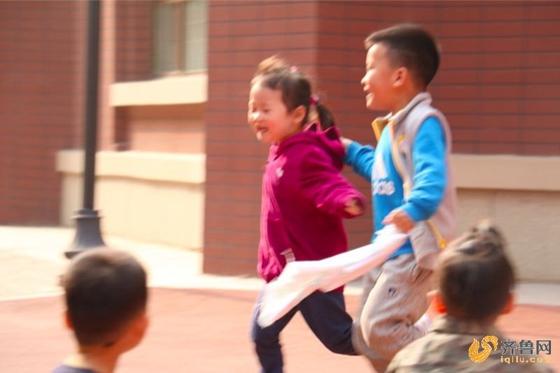 中华传统游戏走进济南历下区保利华庭幼儿园