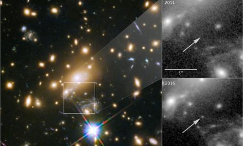 半个宇宙外闪耀:科学家观测到迄今最遥远恒星