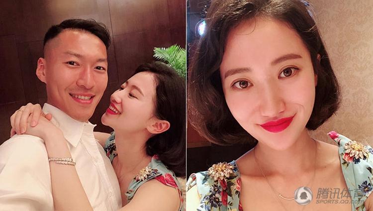 吴曦夫妇参加婚礼 娇妻化身文艺范女神