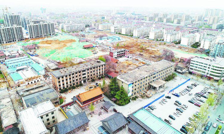 周村:拆除办公楼 为文化项目腾地