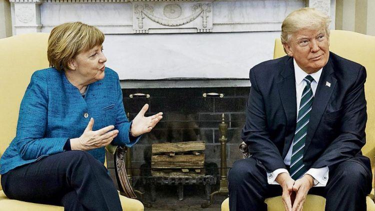 德媒:德总理默克尔拟于本月27日访美