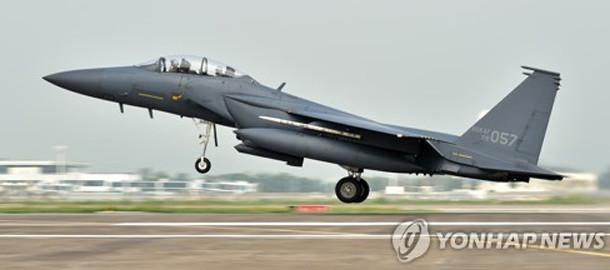韩国空军一架F-15K战机坠毁 目前韩美正举行联合军演