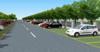 张店今年要建25处停车场 齐盛湖公园二期建两处