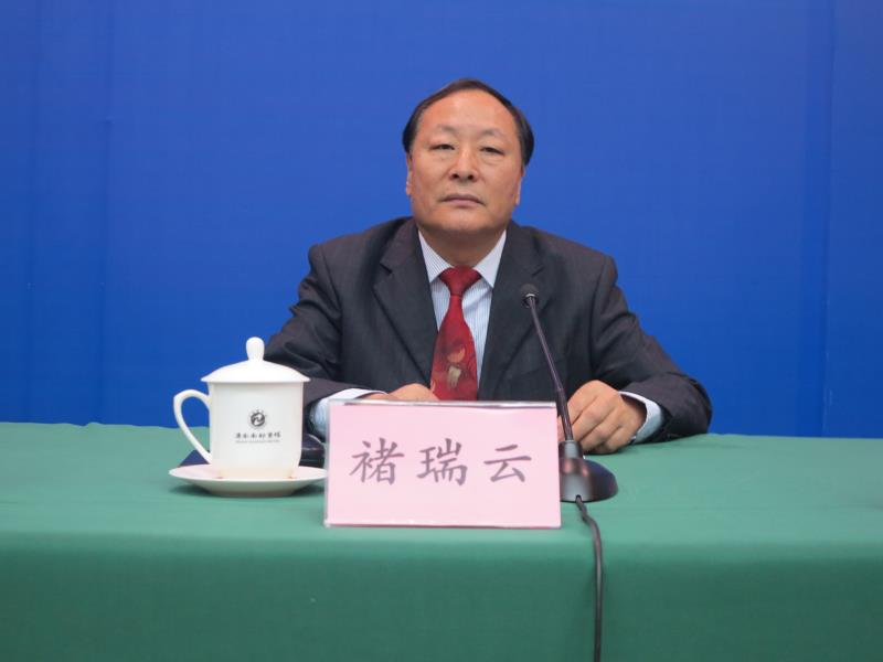 山东省农业厅党组成员、副厅长 褚瑞云