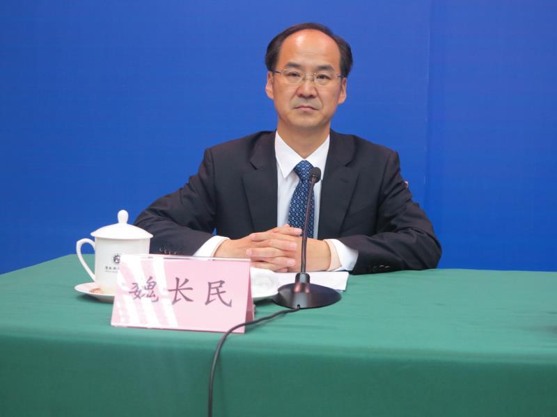 山东省人民政府新闻办公室主任、省政府新闻发言人 魏长民
