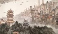 200米中国画长卷《长江万里图》首次亮相