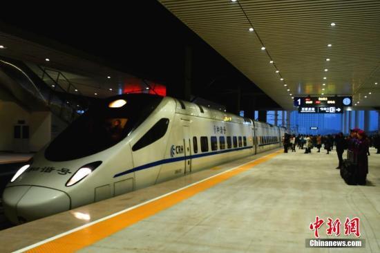 石济高铁开通百日 运送旅客逾137万人次