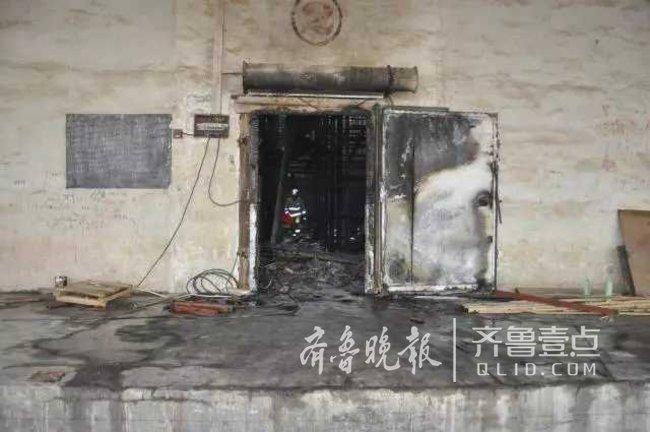 肥城一公司违章作业引发火灾,涉事3人被拘留