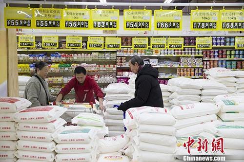 节日因素消退 3月份中国CPI环比降1.1%