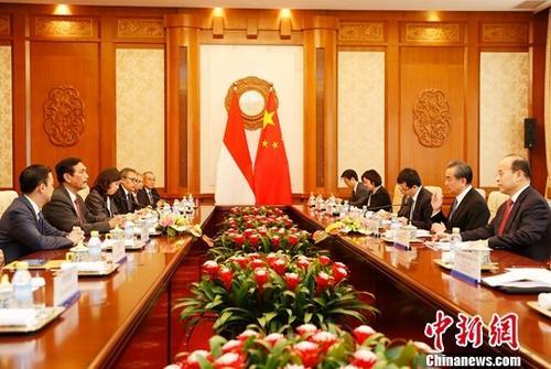 王毅会见印尼总统特使:双方应明确未来互利合作重点方向