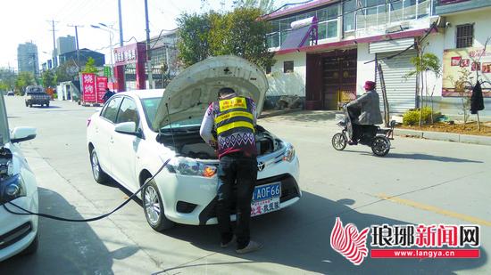 临沂南北道救援队:路上困难找我 文明城市有我