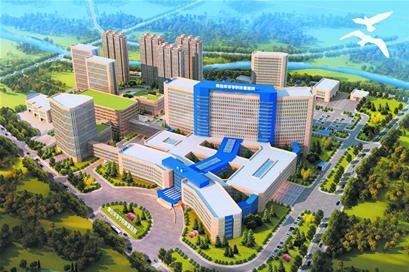 青岛西海岸新建一所三甲医院,2019年投入使用