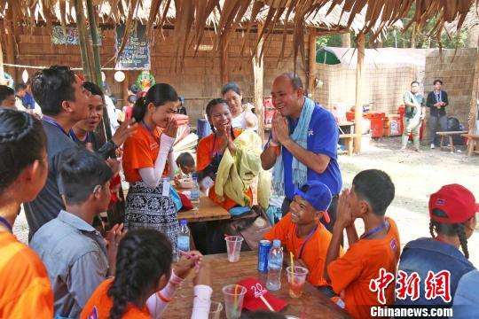 柬埔寨青年联合会主席洪玛尼:青年交往将推动柬中世代友好