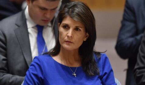 美常驻联合国代表黑莉:将对俄进行新一轮制裁