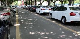 淄博一小区停车场起火 5辆私家车被烧