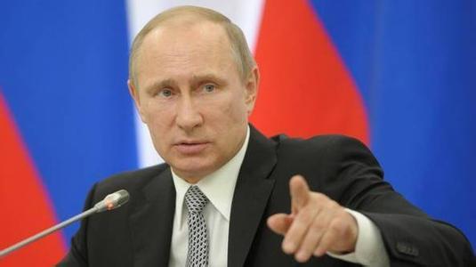 普京:对叙利亚的行动如继续,将导致国际关系混乱