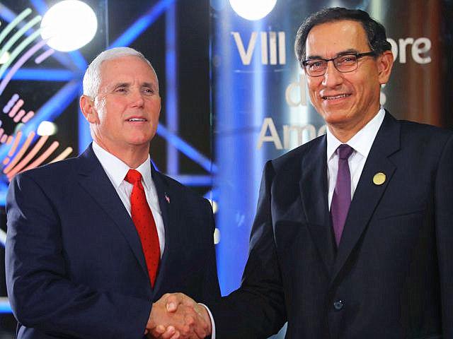 美洲峰会美副总统给委内瑞拉使绊子 马杜罗怒了