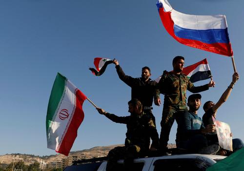 """外媒称空袭难撼叙政府优势:对巴沙尔而言""""一切都照旧"""""""